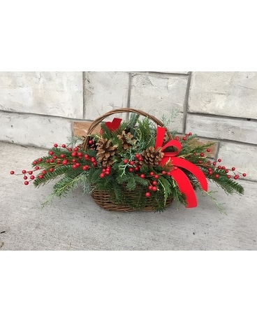Holiday Tradition Flower Arrangement