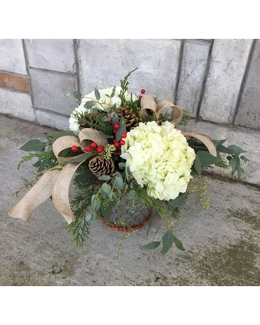 Farmhouse Flower Arrangement