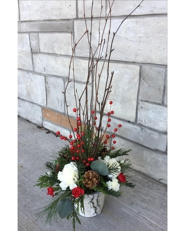 Beautiful Birch - Small Flower Arrangement