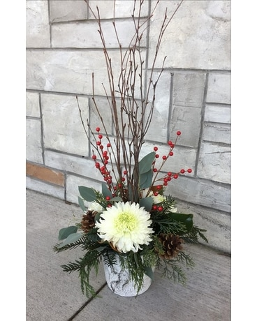 Beautiful Birch - Large Flower Arrangement