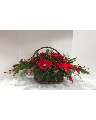Holiday Traditions - Deluxe Flower Arrangement
