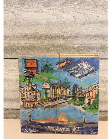 Muskegon coasters Gifts