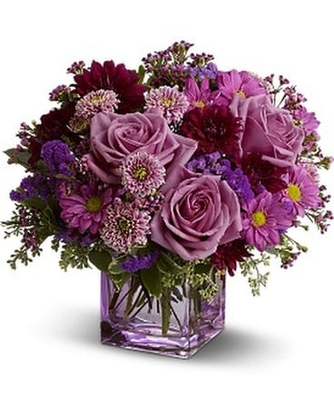 Teleflora's Rosy Day Flower Arrangement