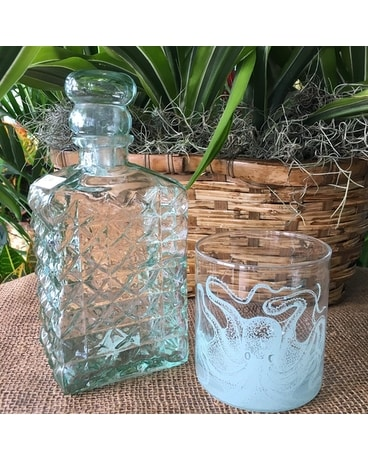 Recylced Glass Decanter Gifts