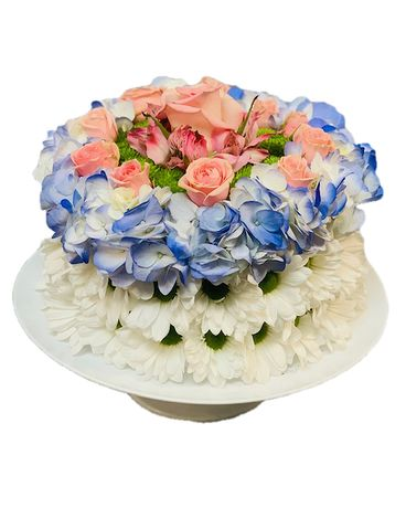 Slice of Life Floral Cake Specialty Arrangement