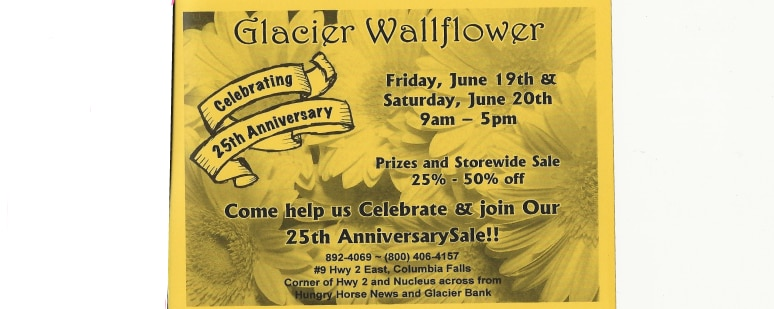 Flower Delivery to Columbia Falls by Glacier Wallflower & Gifts