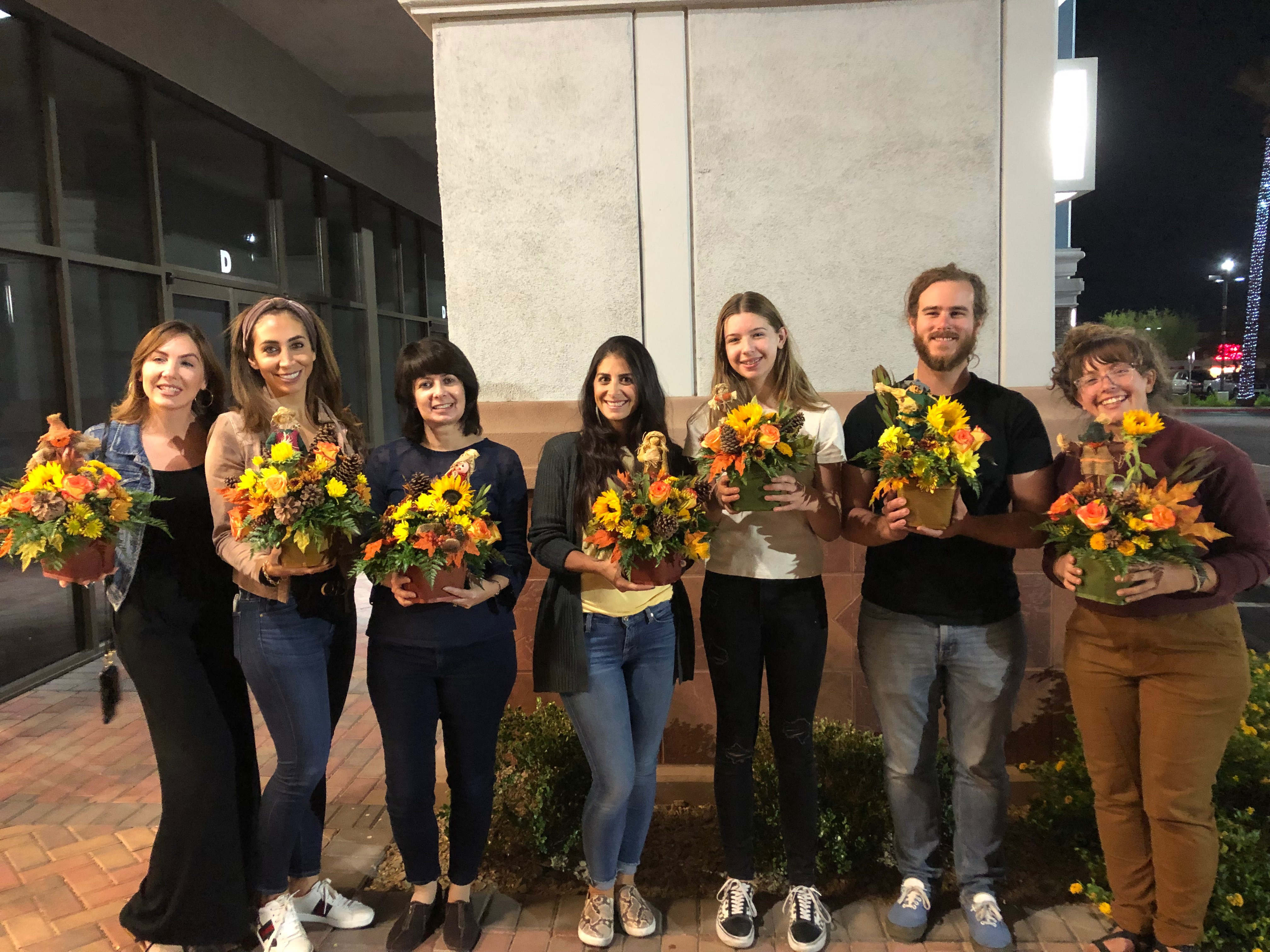 Floral Design Class Graduates