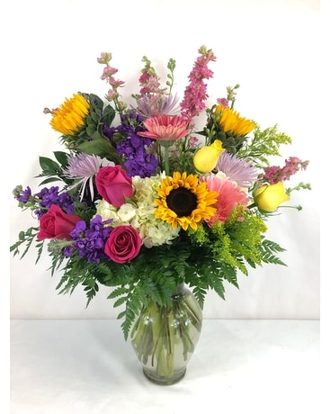 Here Comes The Sun Flower Arrangement