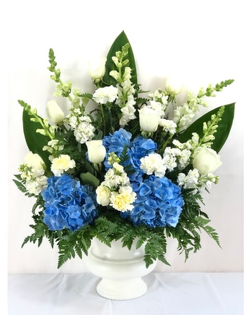 Clouds in the Sky Flower Arrangement