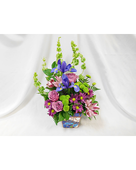 Forget Me Not Flower Arrangement