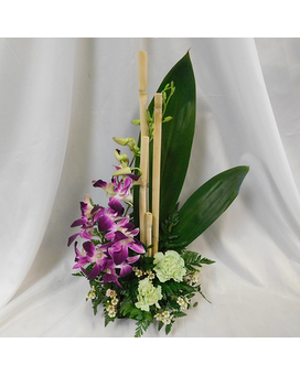 Zen Orchids Flower Arrangement