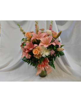 Georgia Peach Flower Arrangement