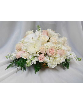 Enchanting Basket Flower Arrangement