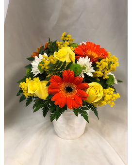 Smiles for Miles Flower Arrangement