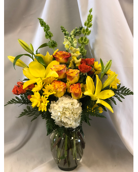 Lovely Lemonade Flower Arrangement