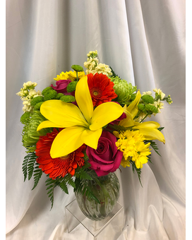 Vibrant Vista Flower Arrangement