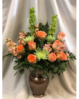 Cinnamon Swirl Flower Arrangement