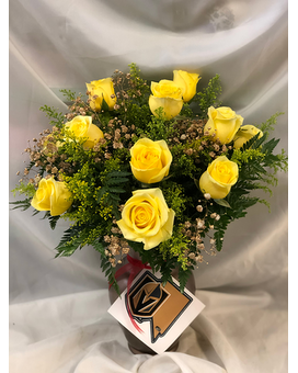 Go Knights Go! Flower Arrangement