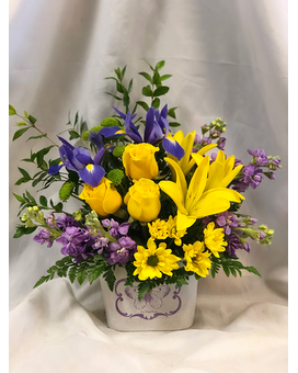 Butterfly Garden Flower Arrangement