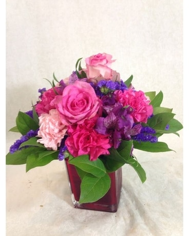 The Pink Lady Flower Arrangement