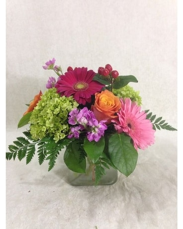 Fruity Green Tea Flower Arrangement