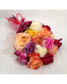 16 Rose Wrap In store Pick up Only Flower Arrangement