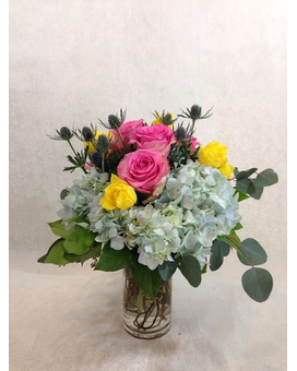 Cool Mist Flower Arrangement