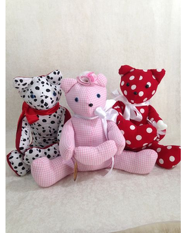 Handmade Teddy Gifts