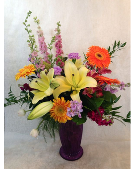Blazing Beauty Flower Arrangement