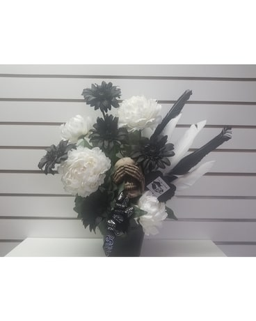 Love You To Death Flower Arrangement
