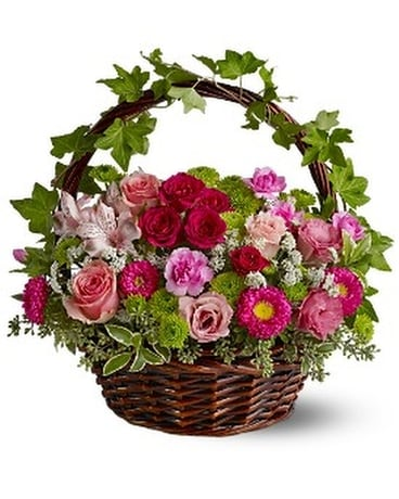 Victorian Garden Flower Arrangement