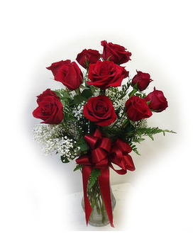 Classic Red Rose Dozen