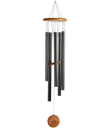 31 Inch Black Windchime Gifts