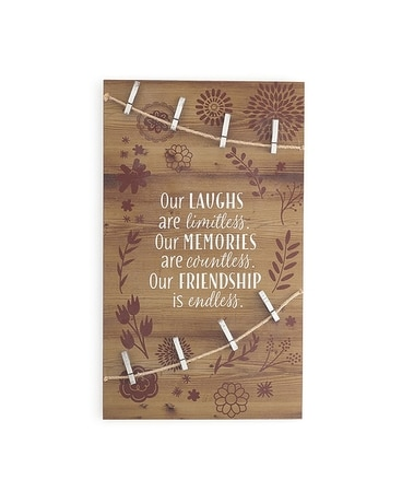 our laughs are limitless wall plaque Gifts