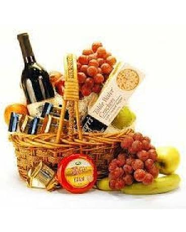 Celebration Basket Gift Basket