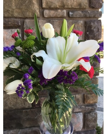 Mothers Day Smile Flower Arrangement