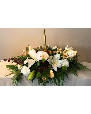 Magical Christmas Flower Arrangement