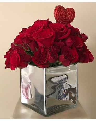 Simple Love Flower Arrangement