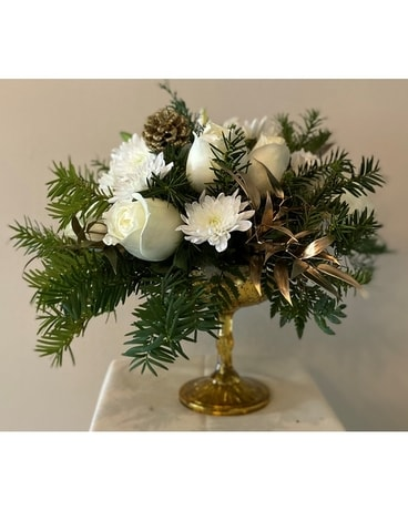 Elegant Holidays Flower Arrangement