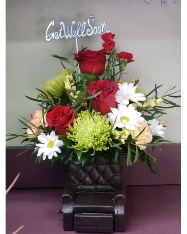 Relax and Get Well Flower Arrangement