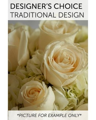 Designer's Choice Traditional Design Flower Arrangement