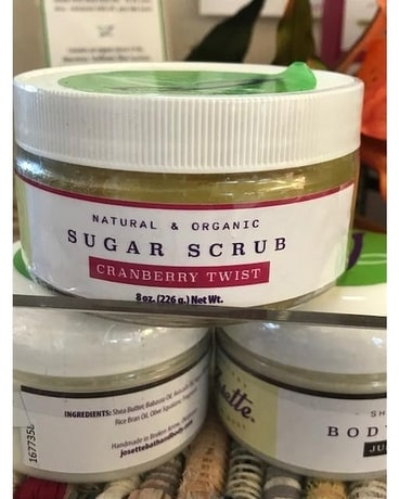 All Natural Sugar Scrub Gifts