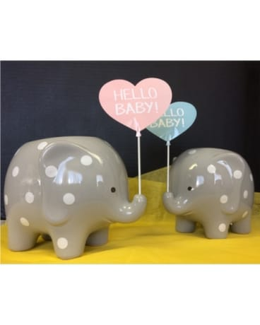 Custom Arranged Baby Elephant