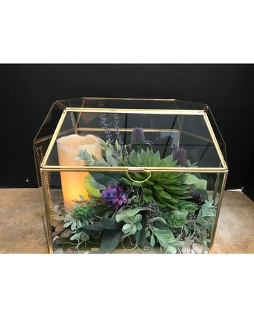 Terrarium Flower Arrangement