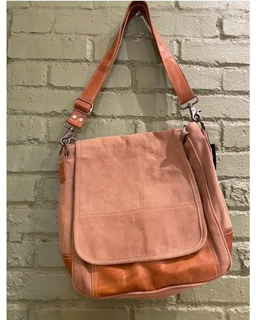Canvas and Leather Satchel Gifts