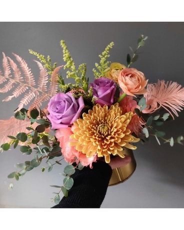Sugar & Spice Flower Arrangement