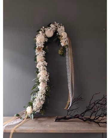 Lovely in Lace Flower Arrangement