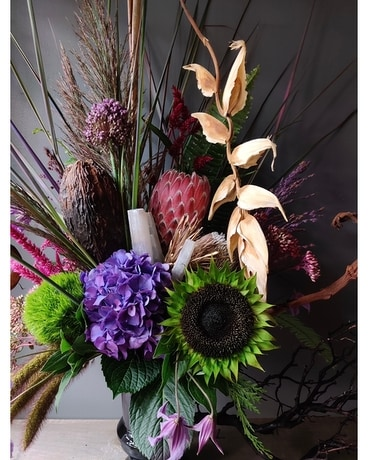 Something Wicked This Way Comes Flower Arrangement