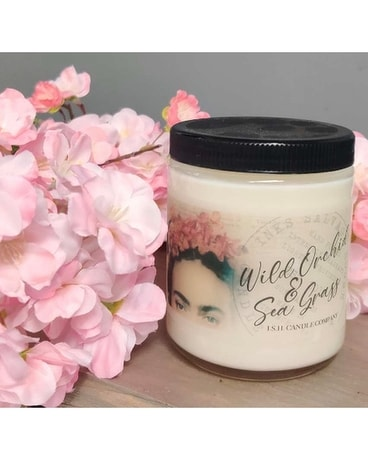 Wild Orchid & Sea Grass Scented Candle Gifts