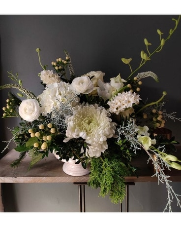 Snow Days Flower Arrangement